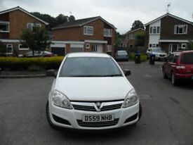2010 VAUXHALL ASTRA 1.7 CDTI 6 SPEED 5 SEATER CREW VAN FOLD DOWN REAR SEAT LOVELY CONDITION