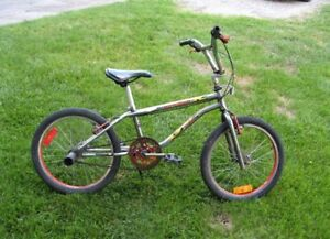 "Bruiser BMX bike with 20"" wheels"