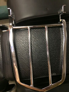 Back rack for a Yamaha Vstar