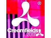 Saturday Creamfeilds ticket