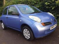 NISSAN MICRA 1.2s ** LOW MILES** ONLY 48K.. 12 MONTHS MOT**