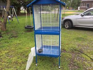 Cage oiseau a vendre (volière)