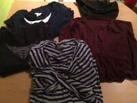 M/L 14-16 maternity clothes bundle