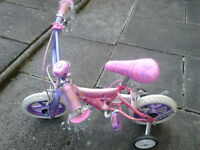 Barbie bike in pink and purple