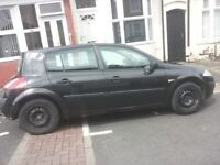 BARGAIN!!!RENAULT MEGANE 2006 £300 ONO OPEN TO SENSIBLE OFFERS