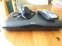 Sky HD Multiroom Box DRX595-C Slimline SKY BOX, Remote,Power Cable and HDMI Lead