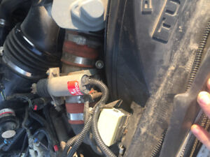 Positive air shut off for a Ford 6.4 power stroke