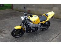 YAMAHA FZR1000 EXUP STREETFIGHTER (yellow) 1991