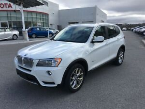 2014 BMW X3 28i xDrive - Leather, Pano Moonroof - Wow!