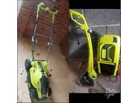 Ryobi Lawnmower and weed eater