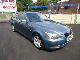 2009 BMW 5 SERIES 3.0 525 SE BUS EDITION AUTO FULL SERVICE HISTORY TOP CONDITION PERFECT RUNNER