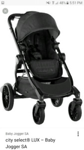 Baby jogger city select with LUX seat stroller