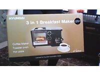 Hyundai 3 in 1 Breakfast Maker