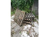 4 Wooden Pallets to Take Away ASAP