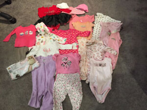 Baby Girl outfits 0-3 months