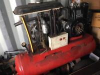 Lombardini Diesel air compressor generator