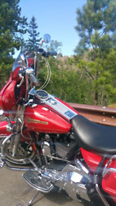 Road King FLHRI Firefighter Edition red low km