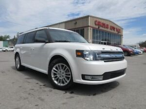 2014 Ford Flex SEL AWD, NAV, ROOF, LEATHER, 71K!