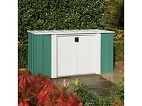 6 x 3 Greenvale Metal Storette. New. Flatpack. PICK UP TODAY