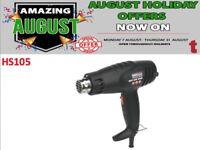 SEALEY HOT AIR GUN 1600W 2-SPEED 375°C/500°C