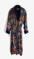 Luxurious 'Silk & Satin' Bath Robe / Dressing Gown