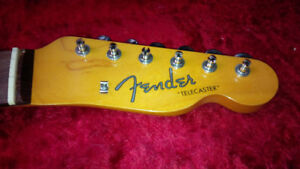 Fender Telecaster Neck. Nitro. Rosewood fretboard with tuners.