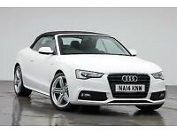 2014 AUDI A5 TDI S LINE SPECIAL EDITION START/STOP CONVERTIBLE DIESEL