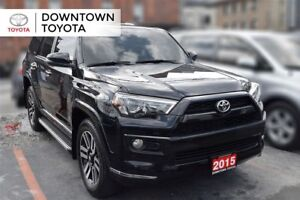 2015 Toyota 4Runner LIMITED, LEATHER, NAVIGATION, 1 OWNER