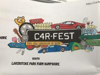 Carfest camping weekend child 6-16 with Jess Glynn etc