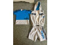 Kids Adidas performance t-shirt, hoody and shorts