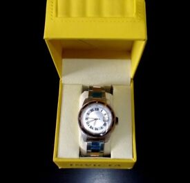 INVICTA ROSE GOLD PLATED WATCH