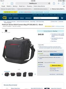 Brand New DSLR camera bag
