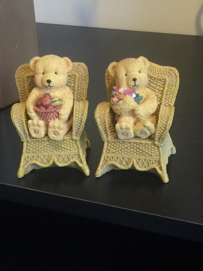Lovely teddy ornaments