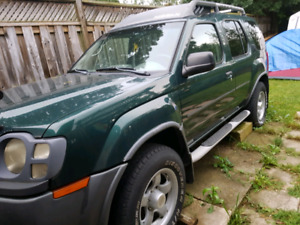 2002 Nissan xterra 4x4 trade or sell