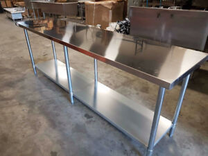 This Weekend - NEW Stainless Steel Sinks and Tables!