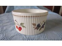 Royal Worcester 'Evesham' Oven to Table Souffle Bowl