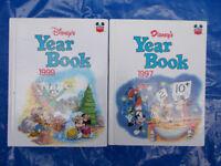 Disney's Yearbook 1997 & 1999