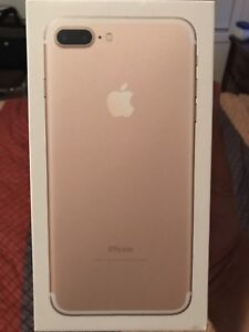 IPhone 7 plus 256 GB for sale. LOCKED TO ROGERS