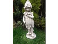 Stone garden bluebell fairy, fantastic detail. New