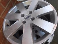"""ford focus set of 4 alloy wheels 17"""""""