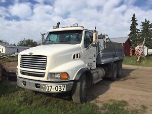 1999 sterling gravel truck