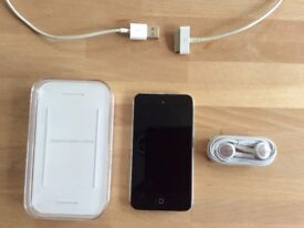 Apple iPod Touch 32GB 4th Generation Excellent Condition with case, cable and unused earphones