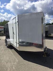 2017 Canadian Trailer Company 7'X18 V-Nose Cargo Trailer