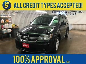 2011 Dodge Journey SXT*7 PASSENGER*U CONNECT PHONE*AM/FM/CD/AUX/
