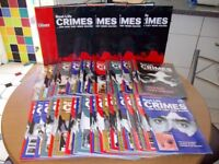 Real Life Crimes Magazines (Introduction + 94 Issues + 4 Binders)