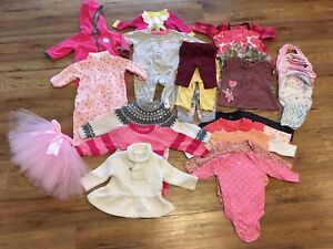 0-6 month girls fall/winter lot