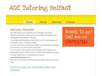 AQE Tutoring Belfast- Highly qualified teacher with over 20 years primary school experience