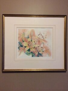 Mary Dawn Roberts - Tiger Lilies 1 Print