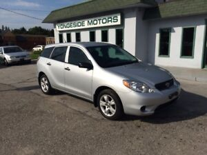 2005 Toyota Matrix Clean Auto $3650 CERT !!!