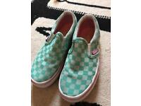 Girls Vans trainers